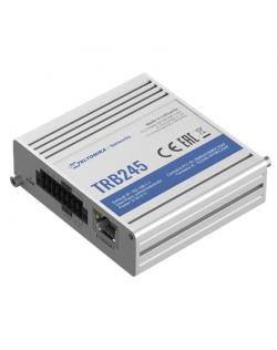 Teltonika TRB245 LTE Gateway: No WiFi, 4G, Dual SIM, Enthernet port, RS232+RS485 ports, GPS Teltonika