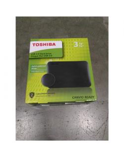 "SALE OUT. Toshiba CANVIO READY 2.5"" 3TB USB 3.0 Black Toshiba REFURBISHED"