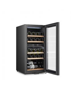 Gerlach Wine Cooler GL 8079 Energy efficiency class G, Bottles capacity Up to 24 bottles, Free standing, Height 82 cm, Black