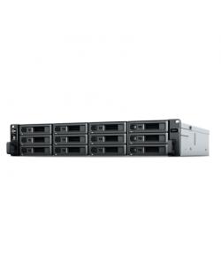 Synology Rack NAS RS2421RP+ Up to 12 HDD/SSD Hot-Swap, Ryzen V1500B Quad Core, Processor frequency 2.2 GHz, 4 GB, DDR4, RAID Bas