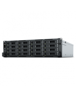 Synology Rack NAS RS2821RP+ Up to 16 HDD/SSD Hot-Swap, Ryzen V1500B Quad Core, Processor frequency 2.2 GHz, 4 GB, DDR4, RAID Bas