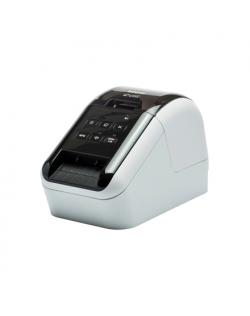 Brother QL-810W Mono, Thermal, Label Printer, Wi-Fi, Other, Black, White