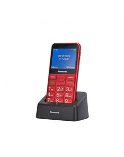 "Panasonic KX-TU155EXBN Red, 2.4 "", TFT-LCD, microSD/microSDHC MB, USB version micro USB, Built-in camera, Main camera 0.3 MP"