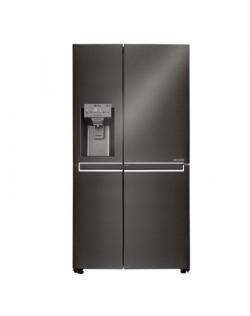 LG Refrigerator GSJ761MCUZ Energy efficiency class F, Free standing, Side by side, Height 179 cm, No Frost system, Fridge net ca