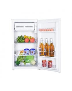 Goddess Refrigerator GODRSD084GW8SSF Energy efficiency class F, Free standing, Upright, Height 85 cm, Total net capacity 93 L, W