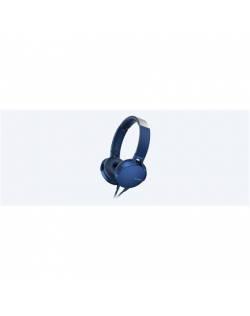 Sony MDRXB550APL Microphone, Blue