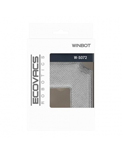 Ecovacs Cleaning Pad W-S072 for Winbot 850/880, 2 pc(s), Grey