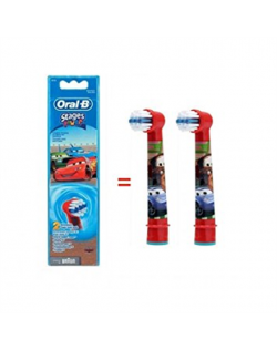 Oral-B Cars EB-10 Warranty 24 month(s), For kids, Heads, Number of brush heads included 2