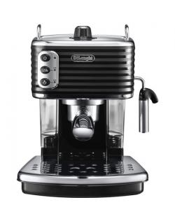 Delonghi Coffee Maker ECZ 351.BK Sculpture Pump pressure 15 bar, Built-in milk frother, Semi-automatic, 1100 W, Black
