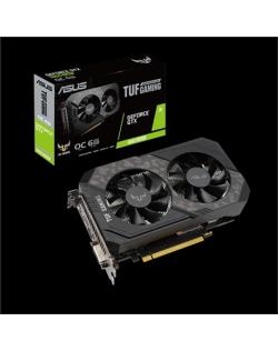 Asus TUF-GTX1660S-O6G-GAMING NVIDIA, 6 GB, GeForce GTX 1660 SUPER, GDDR6, Processor frequency 1815 MHz, DVI-D ports quantity 1,