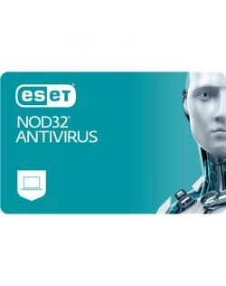 Eset NOD32 Antivirus, New electronic licence, 1 year(s), License quantity 3 user(s)