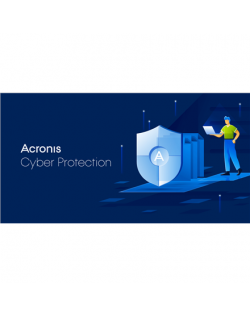 Acronis Cyber Backup Standard Server Subscription License, 1 year(s), 1-9 user(s)
