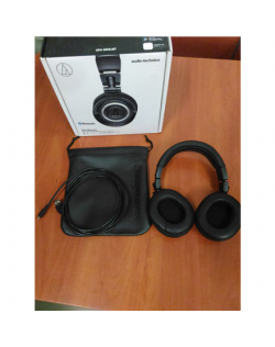 SALE OUT. Audio Technica ATH-M50XBT Wireless Headphones Audio Technica ATH-M50XBT REFURBISHED USED WITHOUT ORIGINAL PACKAGING, B
