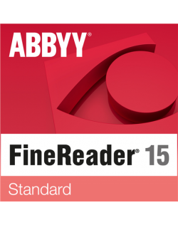 Abbyy FineReader 15 Standard, Volume License (Remote User), 1 year(s), License quantity 5-10 user(s), Software Maintenance