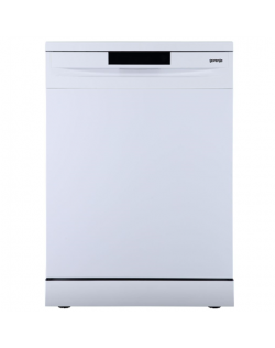 Gorenje Dishwasher GS620E10W Free standing, Width 85 cm, Number of place settings 14, Number of programs 4, Energy efficiency class E, Display, White