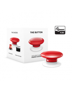 Fibaro The Button Z-Wave, Red