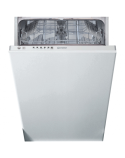 INDESIT Dishwasher DSIE 2B19 Built-in, Width 44.8 cm, Number of place settings 10, Number of programs 5, Energy efficiency class