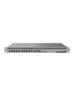 MikroTik Router Switch RB1100AHx4 Web Management, Rack mountable, 1 Gbps (RJ-45) ports quantity 13, Power supply type Dual Redun