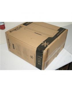 SALE OUT. Fractal Design Core 2300, Black - DAMAGED ONLY PACKAGING Fractal Design CORE 2300 Black, ATX, BENT CORPUS, Power suppl