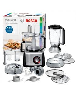 Bosch Food Processor MultiTalent 8 MC812M865 Black, 1250 W, 3.9 L, Blender