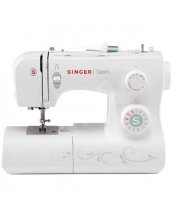 Sewing machine Singer Talent SMC 3321 White, Number of stitches 21, Number of buttonholes 1, Automatic threading