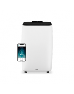 Duux Smart Mobile Air Conditioner North Number of speeds 3, White, 14000 BTU/h