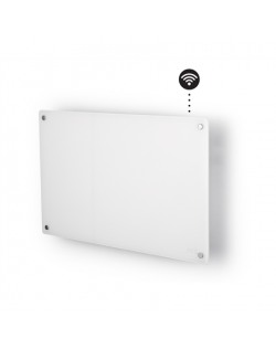Mill Heater AV600WIFI Glass WiFi Panel Heater, 600 W, Number of power levels 1, Suitable for rooms up to 8-11 m², White