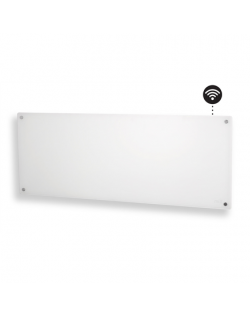 Mill Heater AV1200WIFI Glass WiFi Panel Heater, 1200 W, Number of power levels 1, Suitable for rooms up to 14-18 m², White