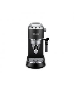 Delonghi Dedica Pump Espresso EC685.BK Pump pressure 15 bar, Built-in milk frother, Semi-automatic, 1300 W, Black/Stainless Stee