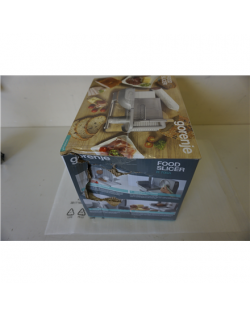 SALE OUT. Gorenje Food Slicer R706A Stainless steel, 180 W, 17 mm, DAMAGED PACKAGING