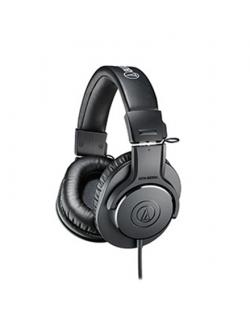 Audio Technica ATH-M20X 3.5mm (1/8 inch), Headband/On-Ear, Black