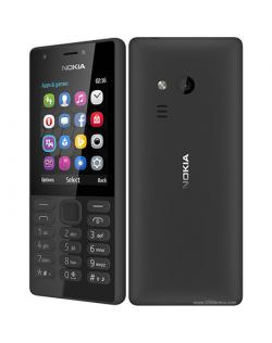 """Nokia 216 Black, 2.4 """", TFT, 240 x 320 pixels, 16 MB, Dual SIM, Mini-SIM, Bluetooth, 3.0, USB version microUSB 1.1, Built-in cam"""