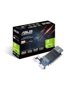 Asus NVIDIA, 2 GB, GeForce GT 710, GDDR5, PCI Express 2.0, Cooling type Passive, HDMI ports quantity 1, Memory clock speed 5012