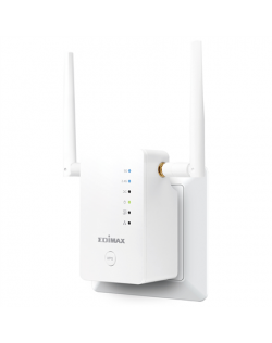 Edimax Extender RE11S 802.11ac, 2.4GHz/5GHz GHz, 300+867 Mbit/s, 10/100/1000 Mbit/s, Ethernet LAN (RJ-45) ports 1, 2 x External
