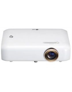 LG LED Projector with Built-In Battery PH510PG HD ready (1280x720), 550 ANSI lumens, White