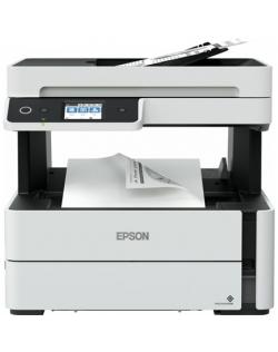 Epson Multifunctional printer EcoTank M3180 Mono, PrecisionCore™ TFP print head, All-in-one, A4, Wi-Fi, Grey