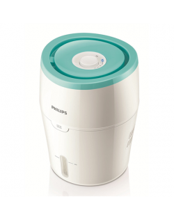 Philips HU4801/01 Humidification capacity 220 ml/hr, White/ green, Type Humidifier, Natural evaporation process, Suitable for ro