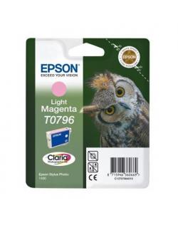 Epson Singlepack Light Magenta T0796 Claria Photographic Ink Light magenta