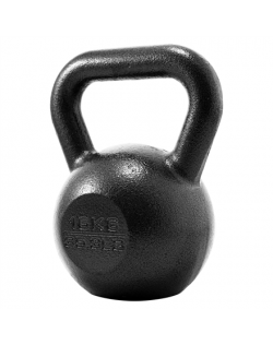 PROIRON PRKHKB16K Kettlebell Weight, 1 pc, 16 kg, Black, Cast Iron