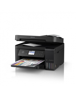 Epson Multifunctional printer L6170 Colour, Inkjet, Cartridge-free printing, A4, Wi-Fi, Black, Yes