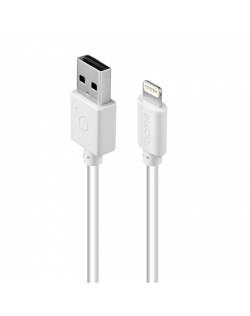 Acme Cable CB1031W 1 m, White, Lightning, USB A