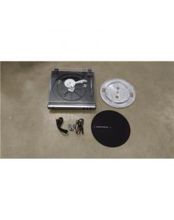SALE OUT. Audio Technica Turntable Belt-Drive USB & Analog, Gunmetal Audio Technica AT-LP60XUSBGM Fully Automatic Belt-Drive Ste