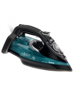 TEFAL Ultimate FV9785E0 Black/Green, 3000 W, With cord, Continuous steam 55 g/min, Steam boost performance 230 g/min, Auto power