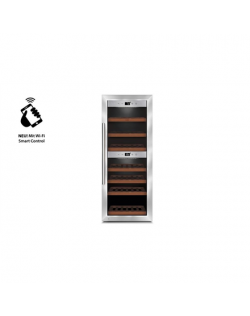 Caso Wine cooler WineComfort 380 Smart Free standing, Bottles capacity Up to 38 bottles, Cooling type Compressor technology, Sil