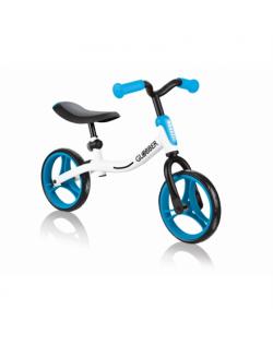 Globber Balance Bike Go Bike, White/Blue, 610-160