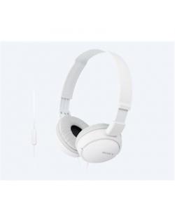 Sony MDR-ZX110APW.CE7 Headband/On-Ear, Microphone, White