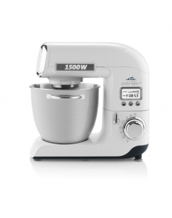 ETA GRATUS Kitchen machine ETA003890020 White, 1500 W, Number of speeds 8, 6.7 L, Meat mincer