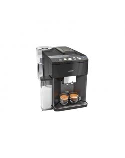 SIEMENS Coffee maker TQ505R09 Pump pressure 15 bar, Built-in milk frother, Fully automatic, 1500 W, Black