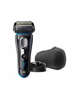 Braun Electric Foil Shaver 9240S Wet use, Rechargeable, Charging time 1 h, Lithium Ion, Rechargable battery, Number of shaver he