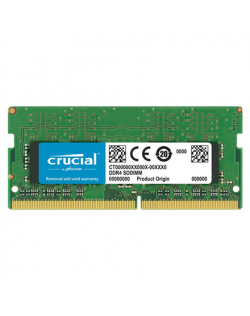 Crucial 8 GB, DDR4, 2666 MHz, Notebook, Registered No, ECC No